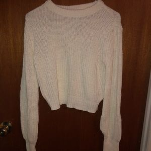 Express x Olivia Culpo cropped sweater size xs